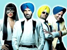 Movie Still From The Film No Problem,Sushmita Sen,Suniel Shetty,Anil Kapoor,Akshaye Khanna