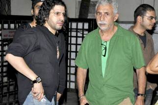 Photo Of Faruk Kabir,Naseruddin Shah From The Naseruddin Shah and Prateik Babbar watch 'Allah Ke Banday'