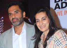 Suniel Shetty & his wife to be brand ambassadors of Raheja Waterfront