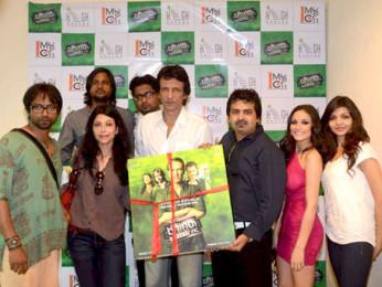 Photo Of Prashant Narayanan,Shilpa Shukla,Kay Kay Menon,Caterina Lopez,Shweta Verma From The Audio release of 'Bhindi Baazaar Inc' at Radio City 91.1 FM