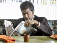Movie Still From The Film A Strange Love Story,Ashutosh Rana