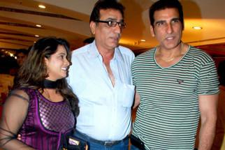 Photo Of Nasreen Usmani,Vinod Chhabra,Mukesh Rishi From The Audio release of 'My Husband's Wife'