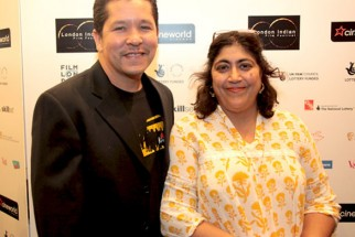 Photo Of Paul Berges,Gurindher Chadha From The Delhi Belly screening at London Indian Film Festival