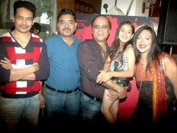 Photo Of Atul Kulkarni,Karan Razdan,Jannat Zubair Rahmani,Rituparna Sengupta From The Rituparna at 'Warning' film press meet