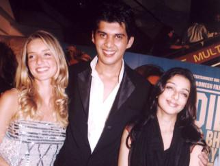 Photo Of Annabelle Wallace,Karan Sharma,Bhumika Chawla From The Premiere Of Dil Jo Bhi Kahey