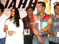 Photo Of Gracy Singh,Anand Raj Anand,Salman Khan,Arbaaz Khan From The Audio Launch Of Wajahh