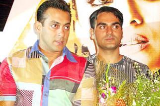 Photo Of Salman Khan,Arbaaz Khan From The Audio Launch Of Wajahh