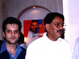 Photo Of Fardeen Khan,D.Rama Naidu From The Audio Release Of Aaghaaz