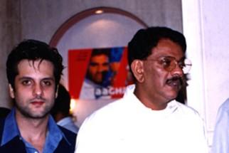 Photo Of Fardeen Khan,D.Rama Naidu From The Audio Release Of Aaghaaz