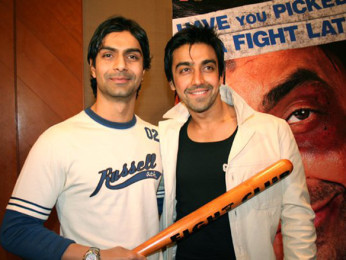 Photo Of Ashmit Patel,AAshish Chowdhry From The Audio Release Of Fight Club