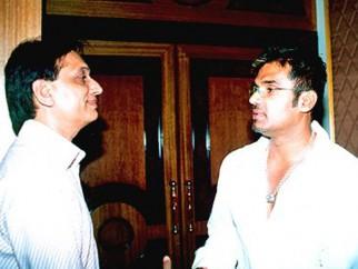 Photo Of Ratan Jain,Suniel Shetty From The Audio Release Of Main Hoon Na