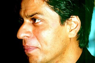Photo Of Shahrukh Khan From The Audio Release Of Main Hoon Na