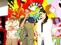 Photo Of Ali Azmat,Manish,Pooja Bhatt From The Audio Release Of Paap