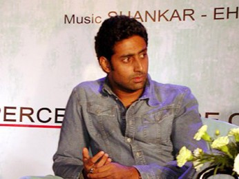 Photo Of Abhishek Bachchan From The Audio Release Of Phir Milenge