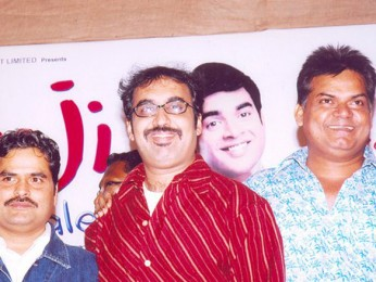 Photo Of Vishal Bhardwaj,Sanjay Daima,Akhilendra Mishra From The Audio Release Of Ramji Londonwaley