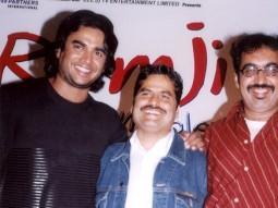Photo Of Vishal Bhardwaj,Madhavan,Sanjay Daima From The Audio Release Of Ramji Londonwaley