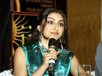 Photo Of Soha Ali Khan From The Dil Maange More Press Meet At IIFA,Singapore