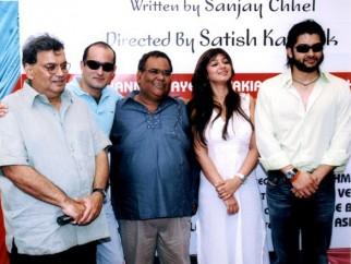 Photo Of Subhash Ghai,Akshaye Khanna,Satish Kaushik,Ayesha Takia Azmi From The Launch Of Shaadi Se Pehle