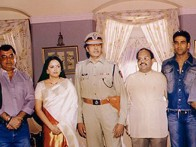 Photo Of Jaya Prada,Amitabh,Amar Singh,Akshay Kumar,Rajkumar Santoshi,Abhishek From The Launch Party Of Khakee