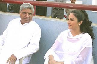 Photo Of Javed Akhtar,Gracy Singh From The Mahurat Of Dil Humko Dijiye