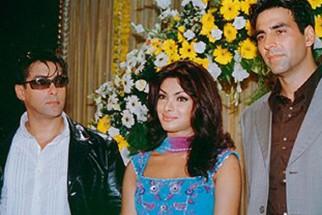 Photo Of Salman Khan,Priyanka Chopra,Akshay Kumar From The Mahurat Of Mujhse Shaadi Karogi