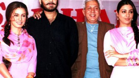 Photo Of Mahima,Chandrachur Singh,Raman Kumar,Tabu From The Mahurat Of Sarhad Paar