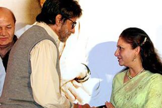 Photo Of Amitabh Bachchan,Sharmila Tagore From The Mahurat Of Viruddh