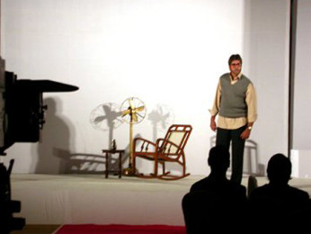 Photo Of Amitabh Bachchan From The Mahurat Of Viruddh
