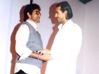 Photo Of Amitabh Bachchan,John Abraham From The Mahurat Of Viruddh
