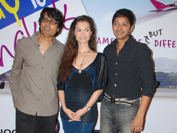 Photo Of Nagesh Kukunoor,Lina Christianson,Shreyas Talpade From The Launch Of Bombay To Bangkok