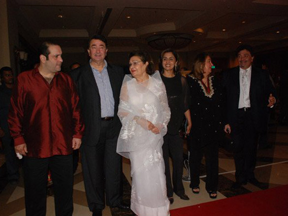 Photo Of Rajeev Kapoor,Randhir Kapoor,Babita,Neetu Singh From The Audio Release Of Saawariya
