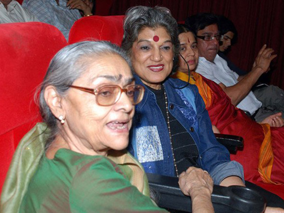 Photo Of Uma Anand,Dolly Thakore From The Ketan Anand's Special Screening Of 'Chetan Anand - The Poetics Of Film'