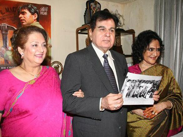 Photo Of Saira Banu,Dilip Kumar,Vyjayantimala From The Preview Of Naya Daur