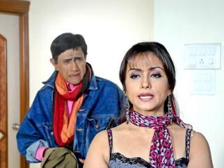 Movie Still From The Film Chargesheet,Dev Anand,Divya Dutta