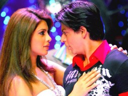 Movie Still From The Film Om Shanti Om,Priyanka Chopra,Shahrukh Khan
