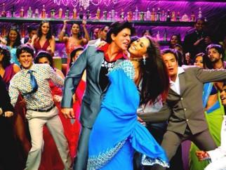 Movie Still From The Film Om Shanti Om,Shahrukh Khan,Rani Mukherji