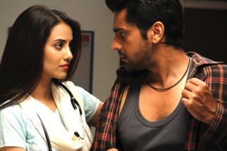 Movie Still From The Film Lanka,Tia Bajpai,Arjan Bajwa