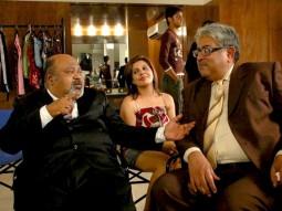 On The Sets Of The Film Pappu Can't Dance Saala Featuring Vinay Pathak,Neha Dhupia,Rajat Kapoor,Naseeruddin Shah,Sanjay Mishra,Saurabh Shukla