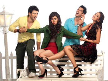 Movie Still From The Film Tutiya Dil,Sidhant Kapur,Suzanna Mukherjee,Nikhil Sabharwal,Iris Maity
