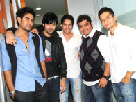 Photo Of Rohin Robert,Karanvir Sharma,Bhaumik Sampat,Rohit Arora,Kunal Pant From The Audio release of 'Sadda Adda'