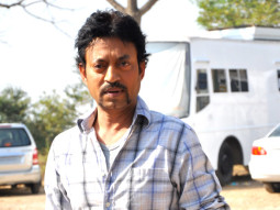 On The Sets Of The Film Pranam Walekum Featuring Irrfan Khan