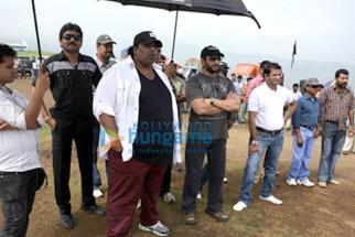 Ganesh Acharya,Arshad Warsi,Vinod Bachchan