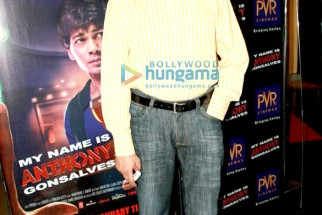 Photo Of Taran Adarsh From The Premiere Of My Name Is Anthony Gonsalves