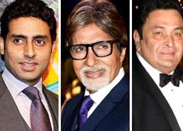 Abhishek, Big B to swap dates for Rishi Kapoor
