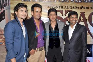 Dhaval Gada, Ravi Kissen, Shahrukh Khan, Jayantilal Gada