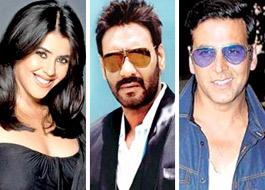 Ekta, Ajay, Akshay set for a clash next Independence Day