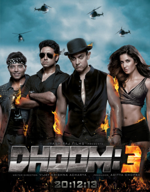 Dhoom 3 Cover