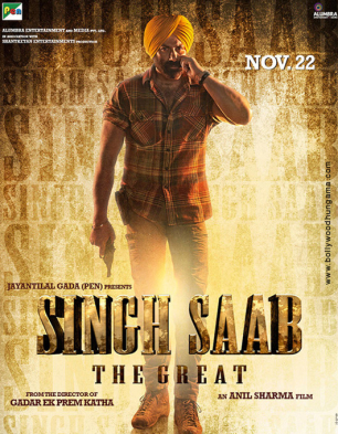 Singh Saab The Great Cover