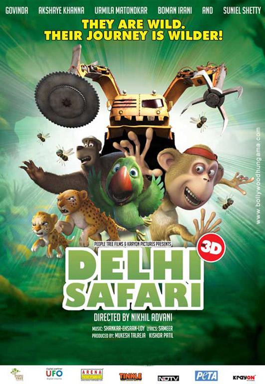 Delhi Safari Cover