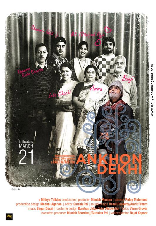 Ankhon Dekhi Cover